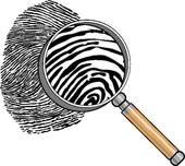 Fingerprint   Clipart Graphic