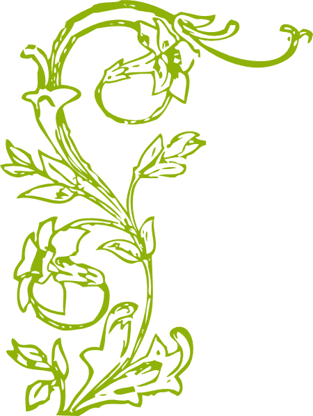 Flower Vine Clipart - Clipart Kid
