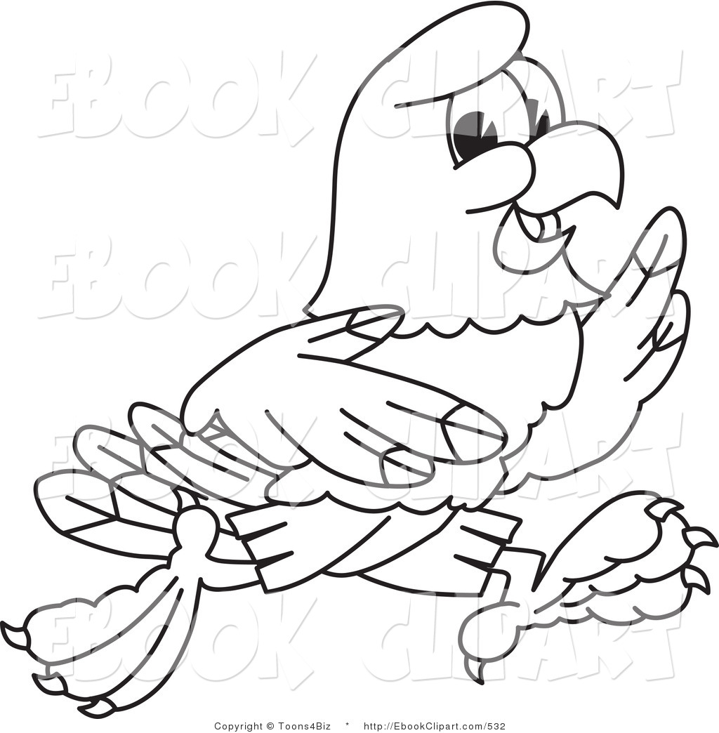 Flying Hawk Clipart Black And White Hawk Clipart Black And