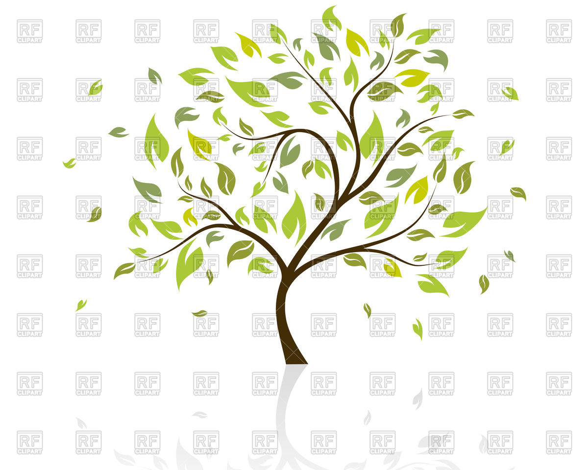 Green Summer Tree 83674 Download Royalty Free Vector Clipart  Eps