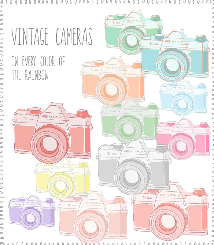 Home Clip Art Vintage Camera Clip Art
