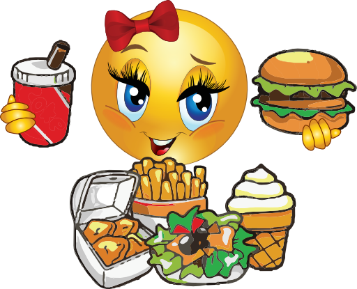 Hungry Smiley Face Clipart Hungry Girl Smiley