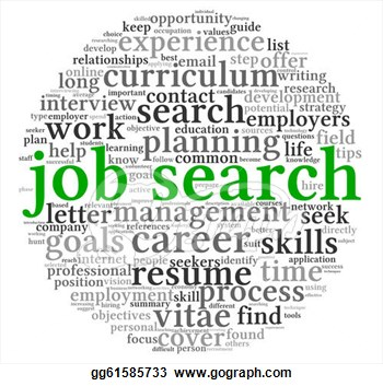 Job Search Clipart Clipart   Job Search Concept