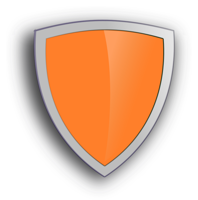 Magic Shield By Peileppe   An Orange Shield