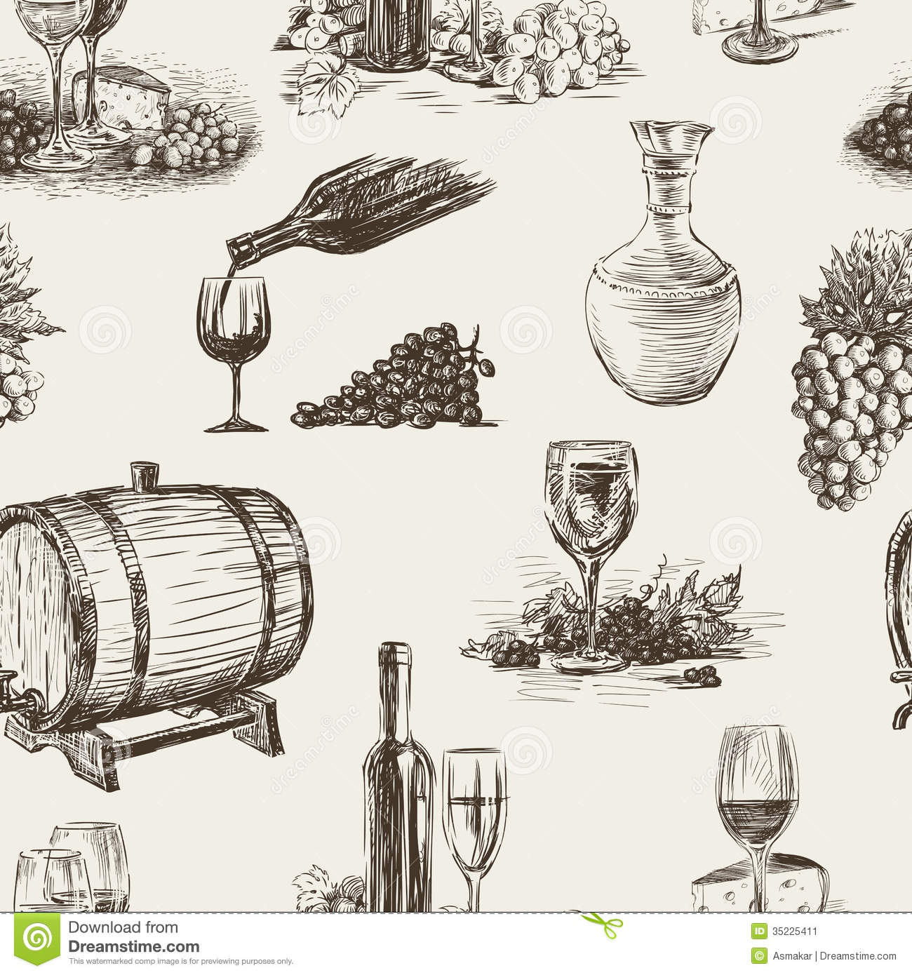 More Similar Stock Images Of   Pattern Of Wine Making