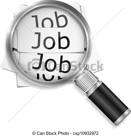 Of Job Search Vector Eps10 Illustration Csp10932972   Search Clipart