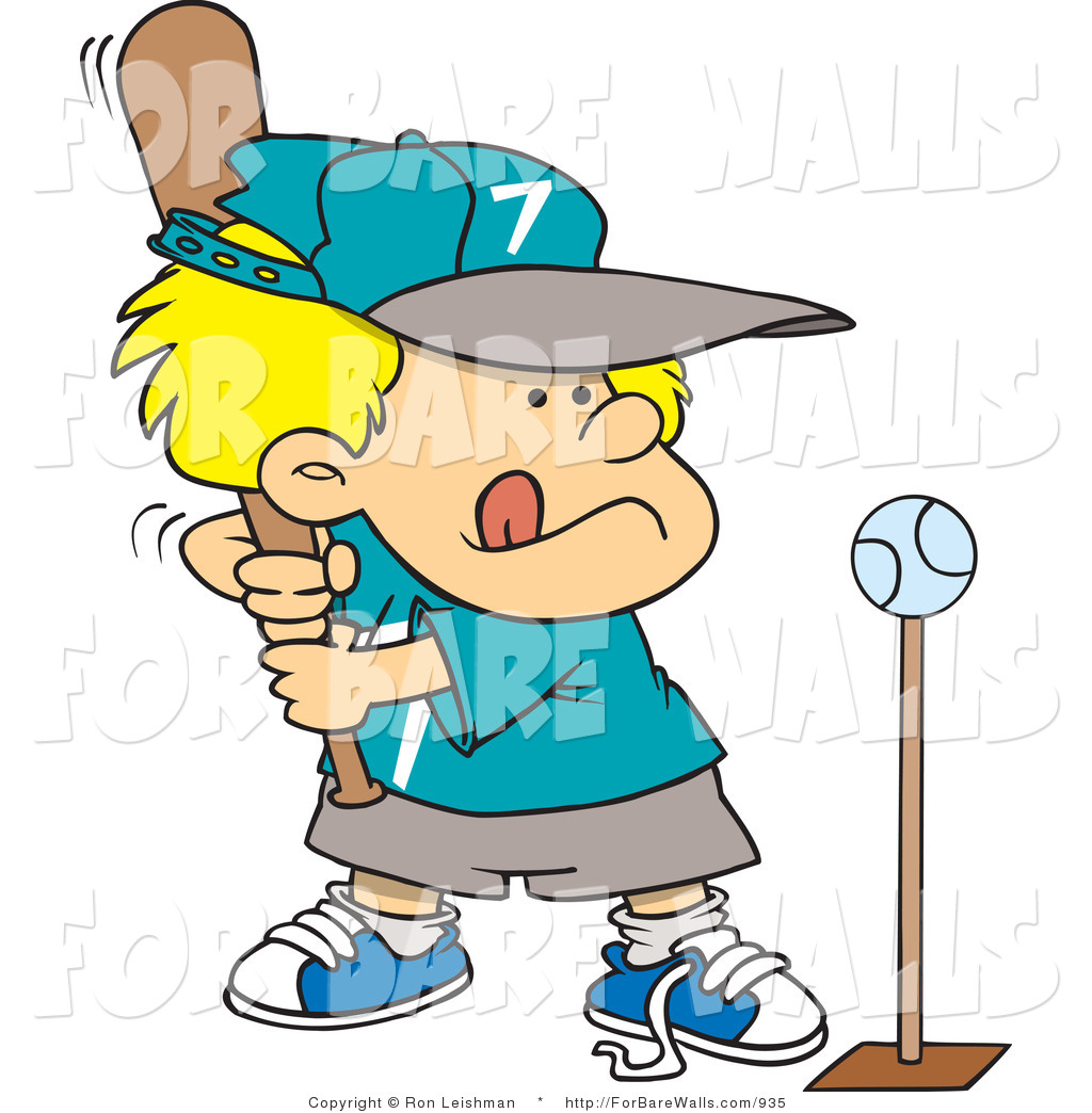 Boys T-ball Clipart - Clipart Kid