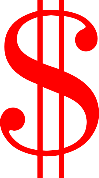Red Money Sign Clip Art   Clipart Panda   Free Clipart Images