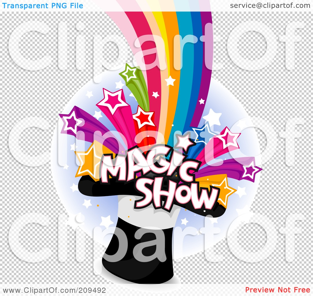 Related Pictures Royalty Free Rf Magic Show Clipart Illustration By