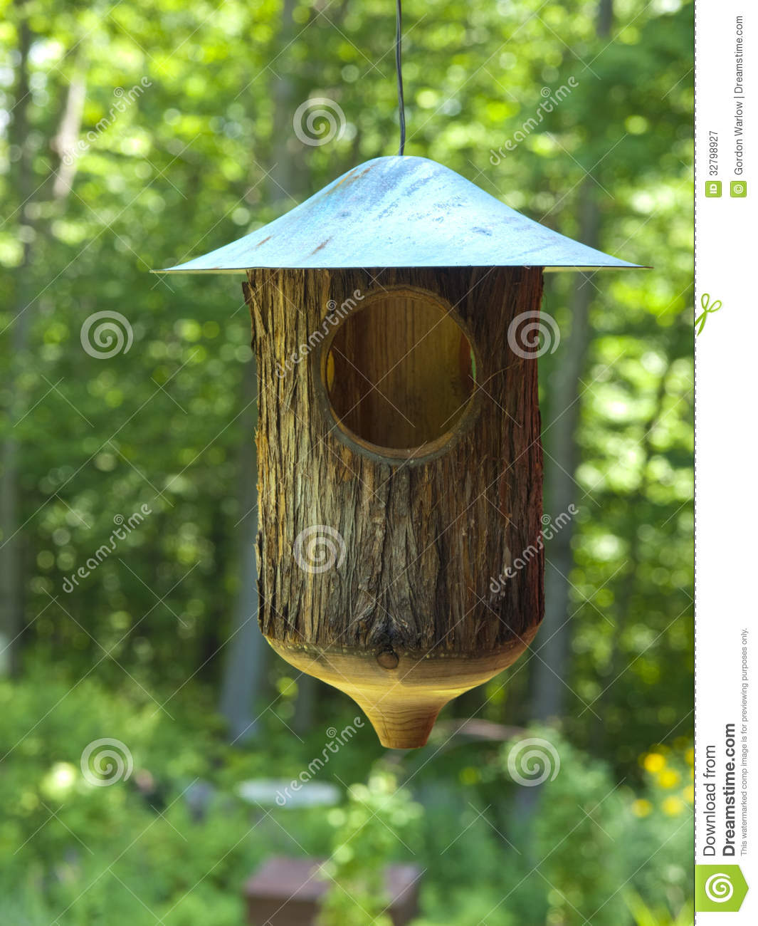Rustic Bird Feeder Royalty Free Stock Photography   Image  32798927