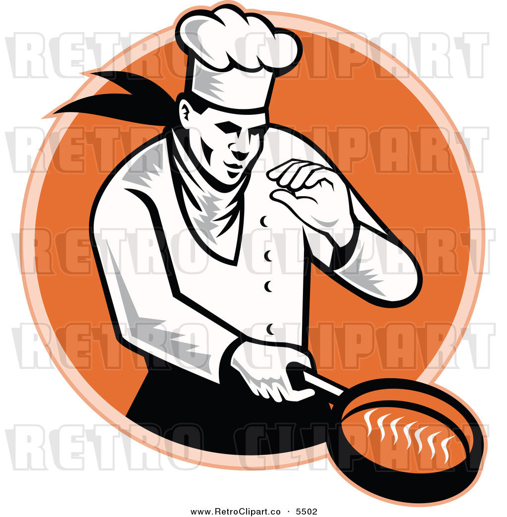 Man Cooking Clipart - Clipart Kid