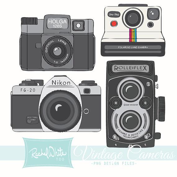 Clip Art Vintage Camera Clip Art old camera clipart kid vintage cameras clip art 20 images ai eps png rolleiflex holga