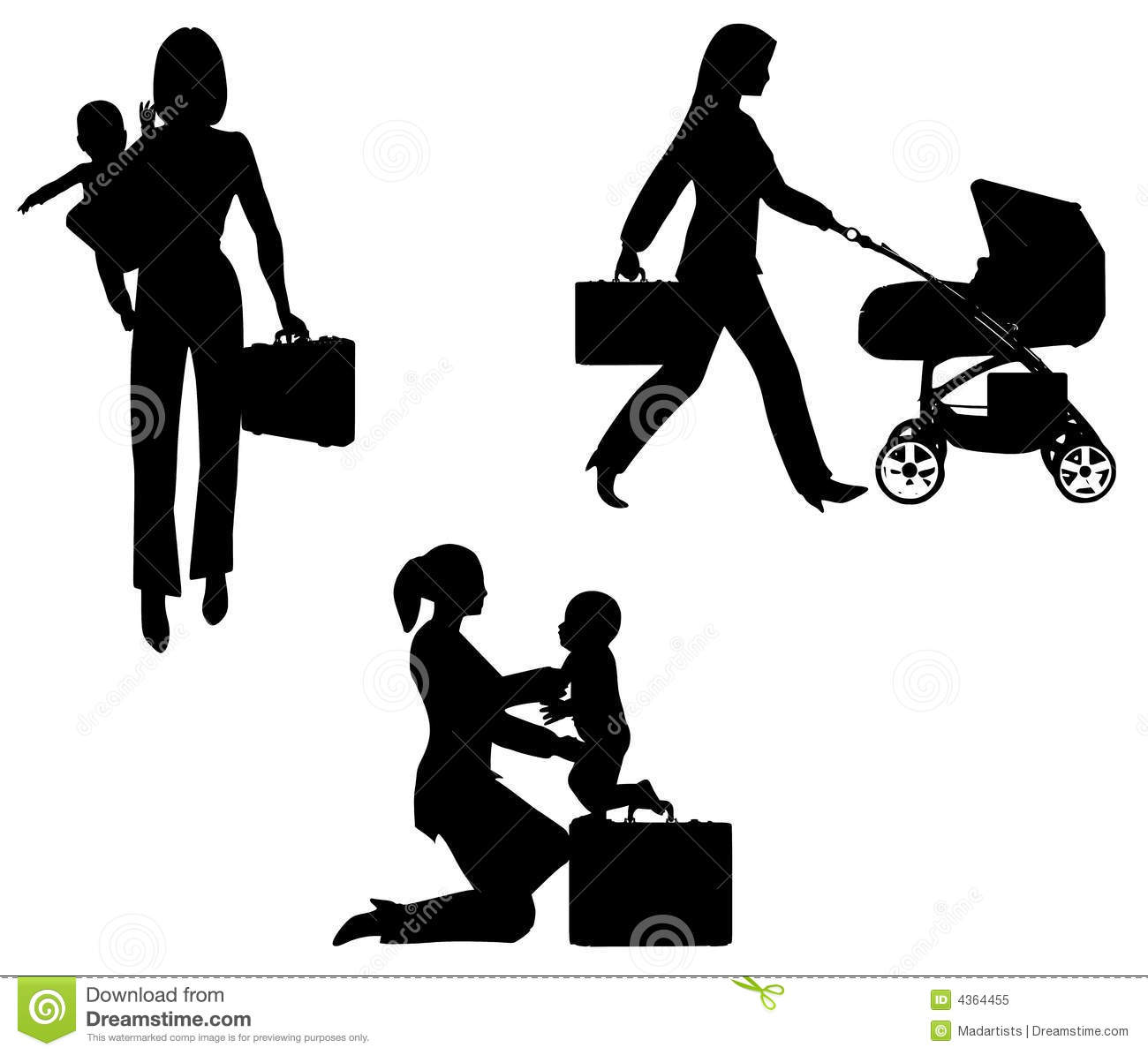 Working Mom Clipart - Clipart Suggest