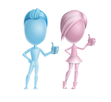 3d People Thumbs Up Cliparts   Clipart Me