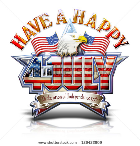 4th Of July Eagle Clipart Have A Happy Fourth July