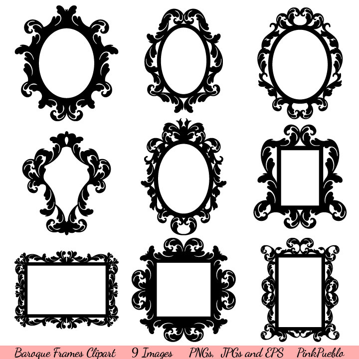 Mirror Silhouettes Clipart Clipart Suggest