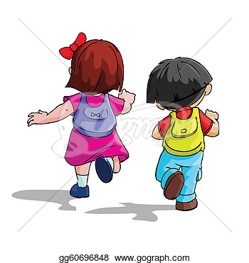 Children Going Home From School Clipart Kids Going To School   Royalty