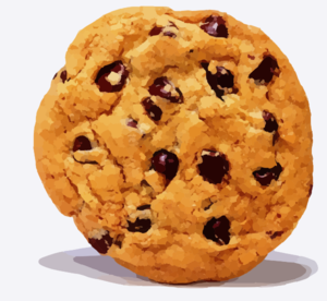 Chocolate Chip Cookie Clip Art At Clker Com   Vector Clip Art Online