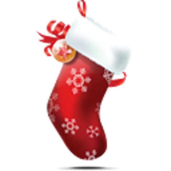 Christmas Stocking   Free Images At Clker Com   Vector Clip Art Online