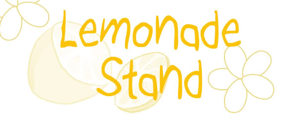 Lemonade Stand Signs 50 Cents