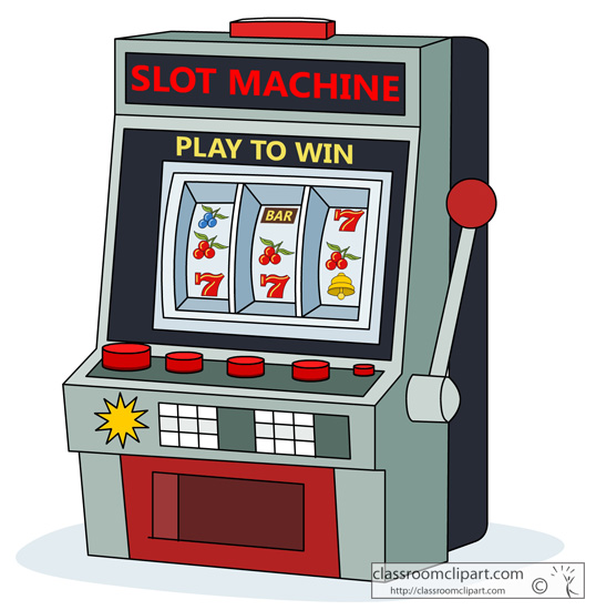 Video Slot Machines Clip Art