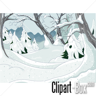 Related Winter Background Cliparts