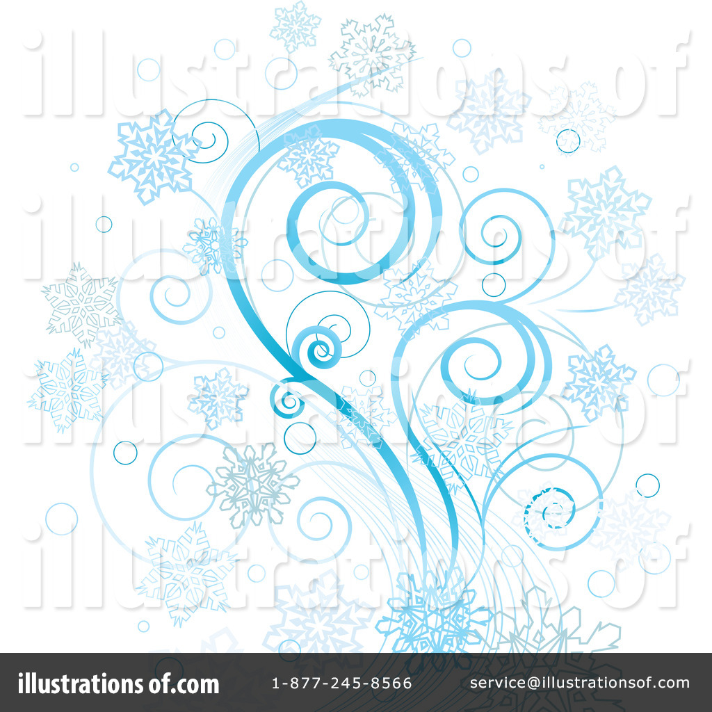 Royalty Free  Rf  Winter Background Clipart Illustration By Pushkin