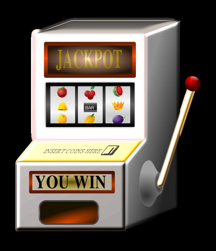 slot machines clipart