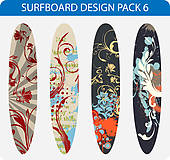 Surfboard Clipart And Illustrations