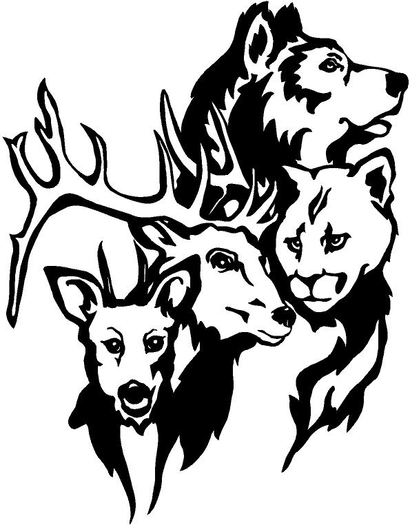 Wildlife Decals For Truck Windows Submited Images   Pic2fly
