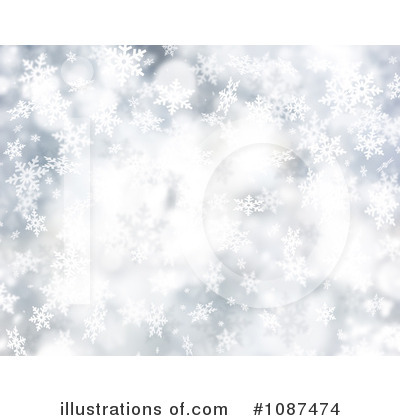 Winter Background Clipart  1087474 By Kj Pargeter   Royalty Free  Rf