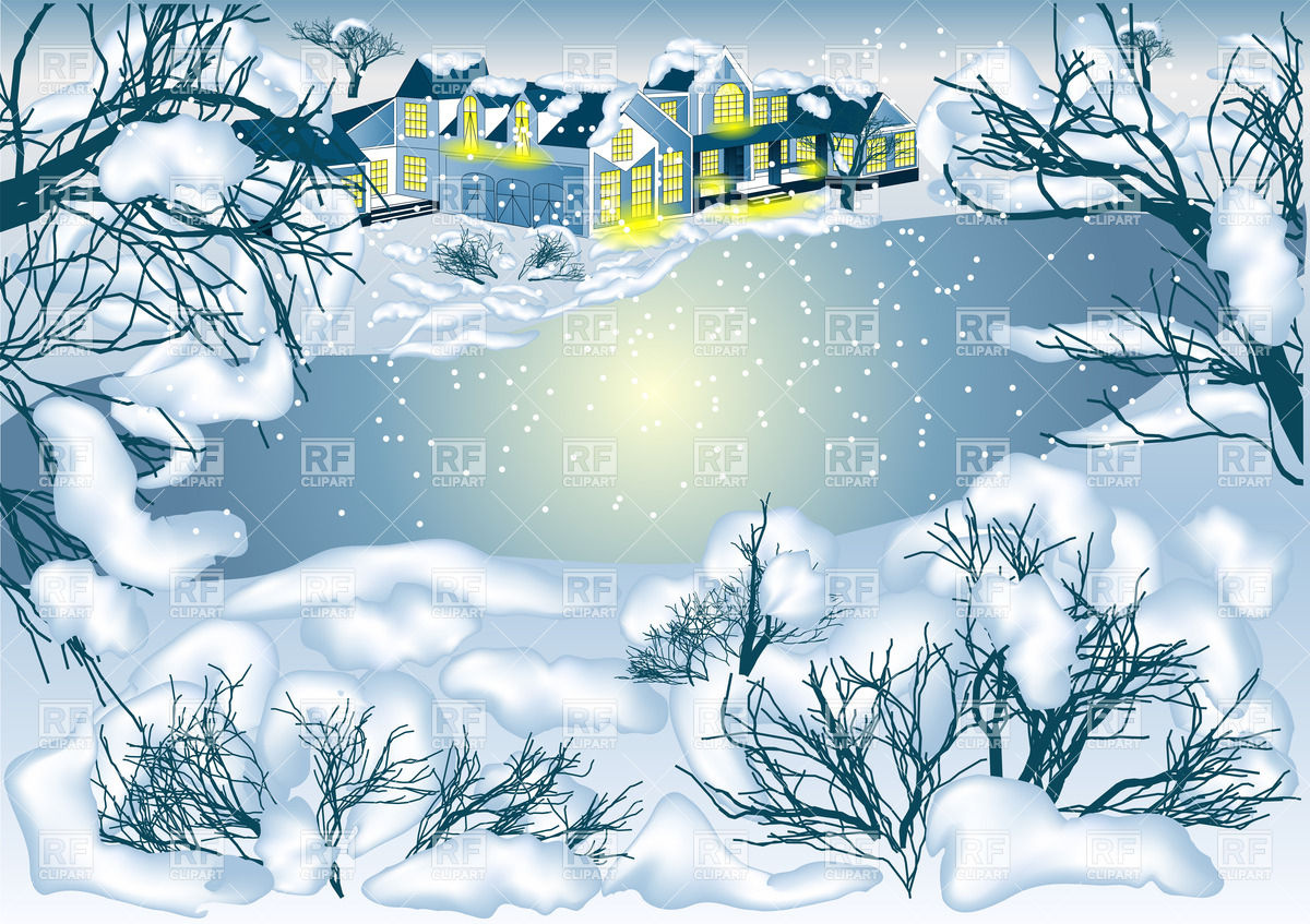 Winter Landscape    Hristmas Background 27363 Backgrounds Textures