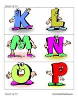 For Teaching Alphabet Clipart - Clipart Kid