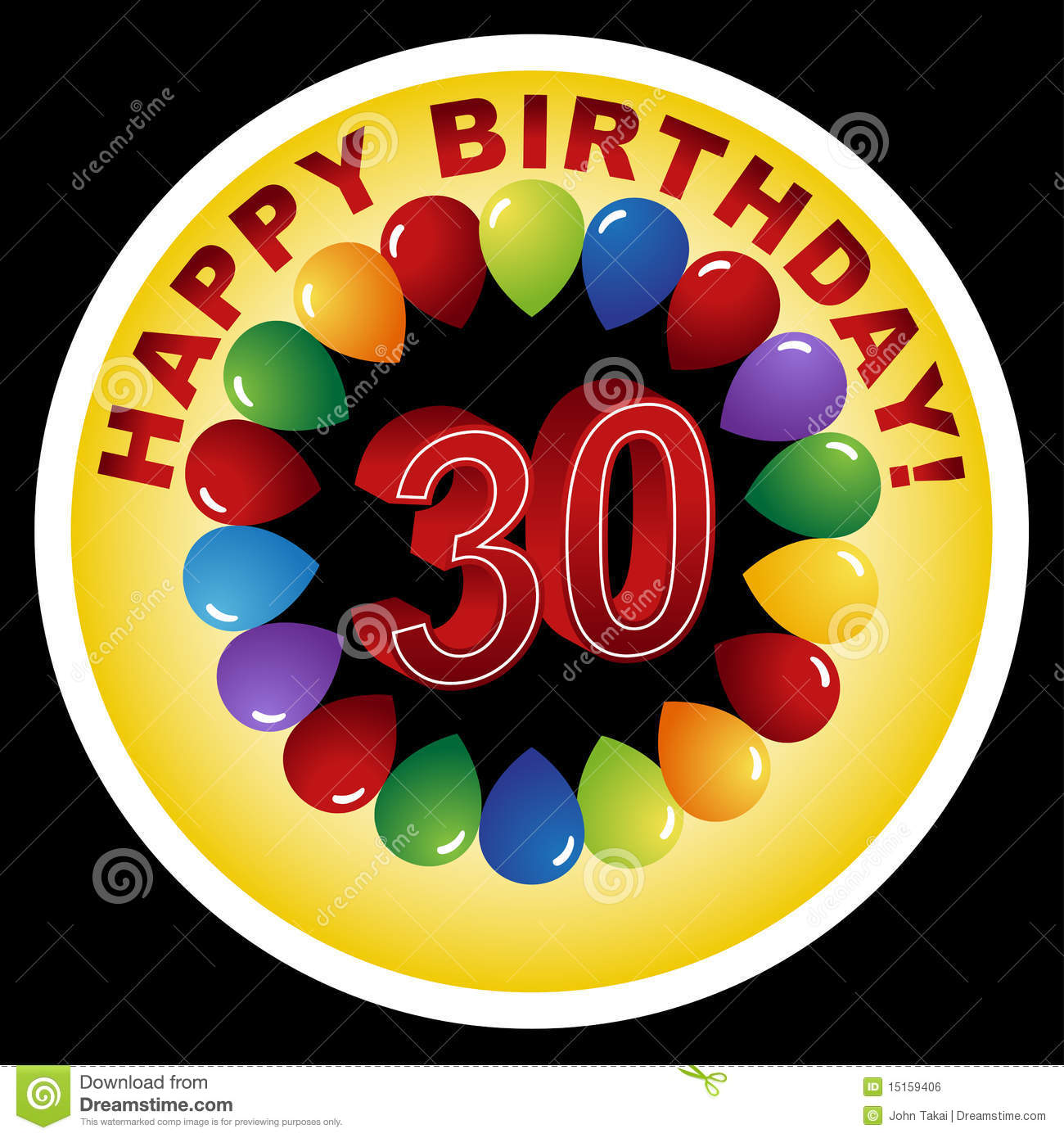 Funny 30th Birthday Clipart - Clipart Kid