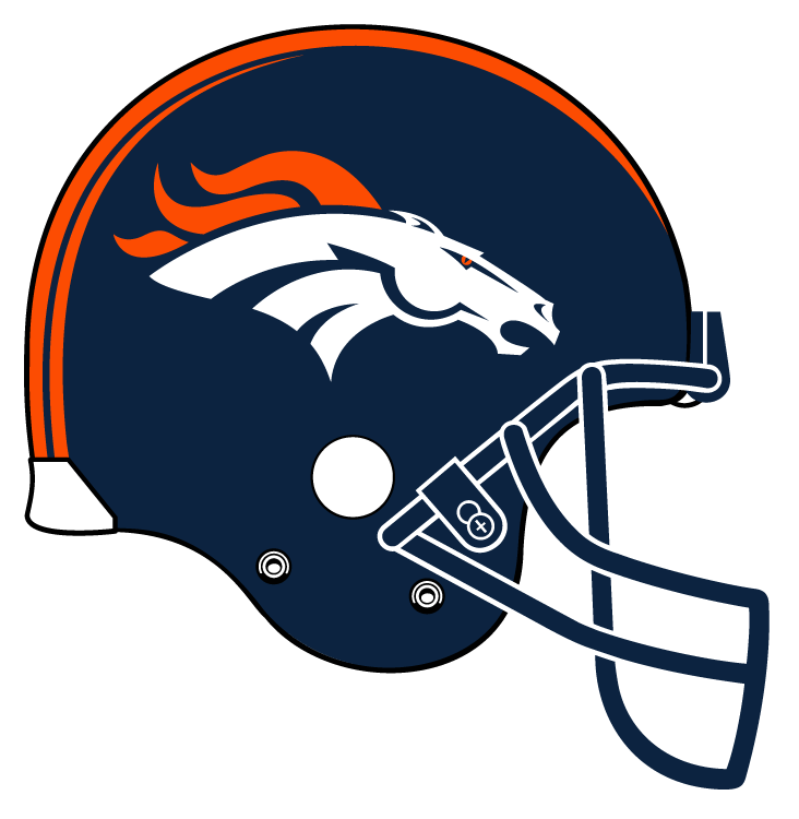 Denver Broncos Clip Art   Cliparts Co