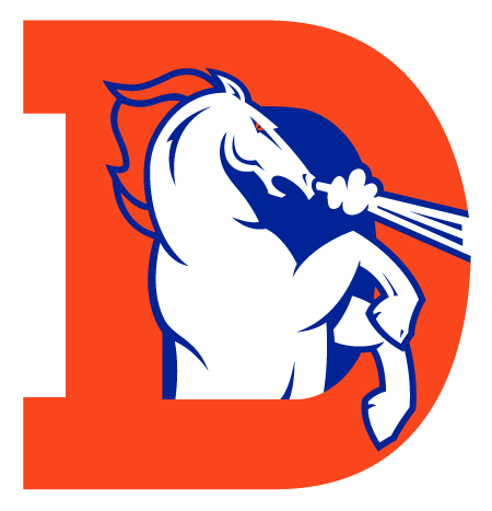 Denver Broncos Logo Clip Art   Cliparts Co