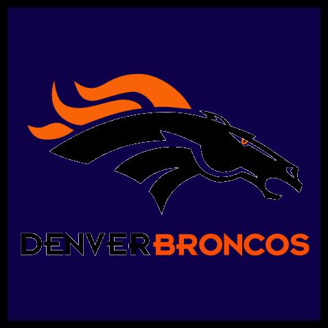 Denver Broncos Logos Free Logos   Clipartlogo Com