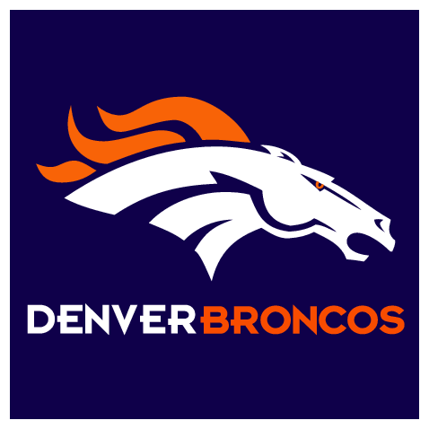 Denver Broncos Helmet Logo Vector Galleryhipcom The