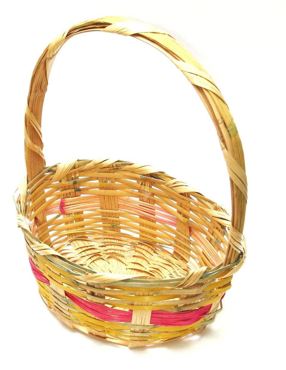 Empty easter basket clipart clipart kid for Clipart basket