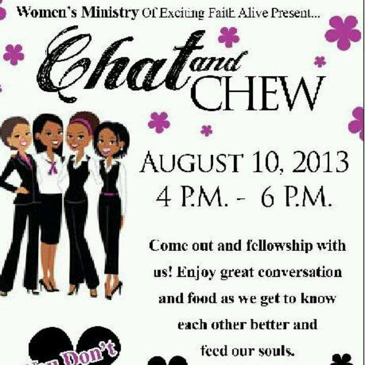 Fellowship Ideas Womens Ministry Ideas Woman Women Fellowship