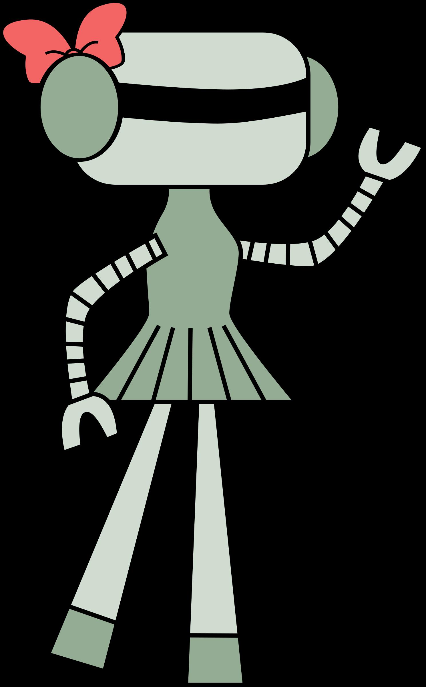Girl Robot Clipart - Clipart Kid
