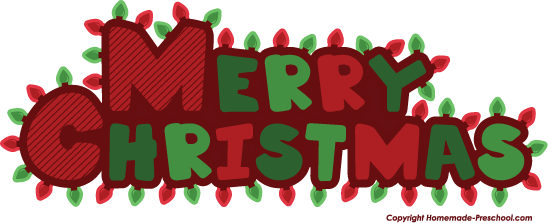 Home Free Clipart Christmas Clipart Merry Christmas Lights