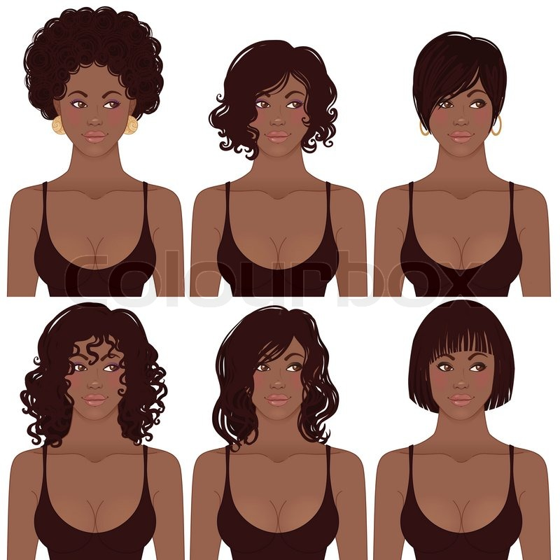 free clipart hairstyles - photo #43