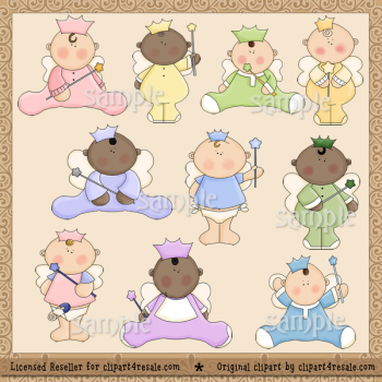 Baby Princess By Clipart 4 Resale  Whimsy Primsy     1 00   Whimsy