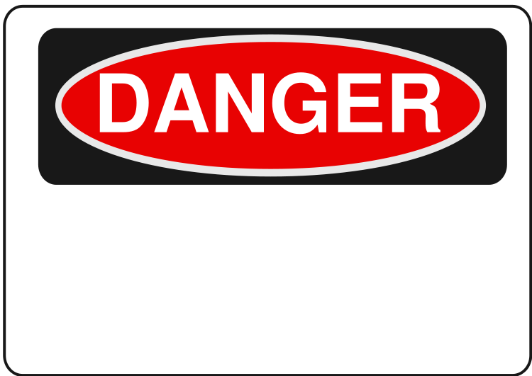 Danger Sign Clipart - Clipart Kid