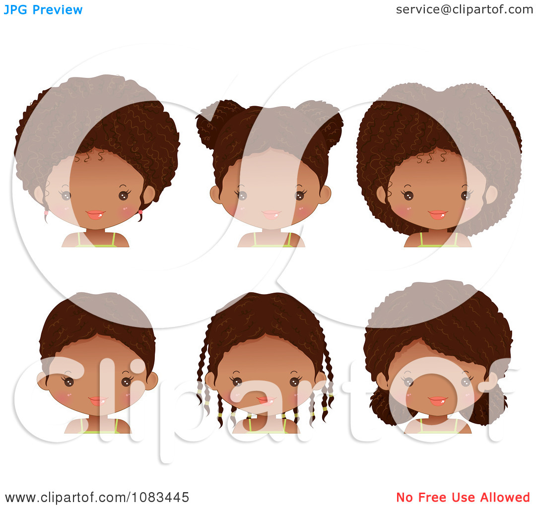 free clipart hairstyles - photo #32