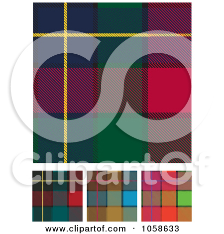 Free Vector Clip Art Illustration Of A Digital Collage Scottish
