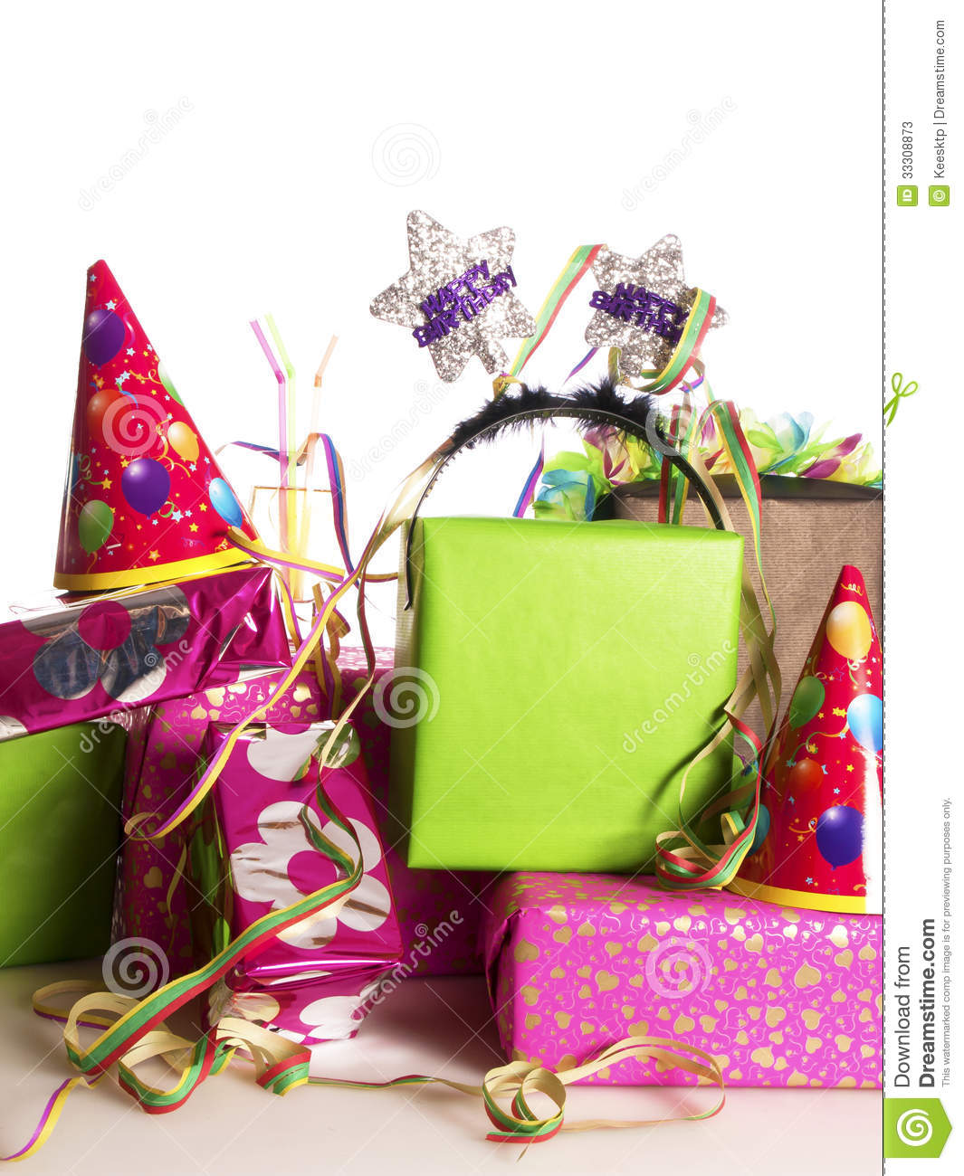Huge Stack Of Presents Clipart