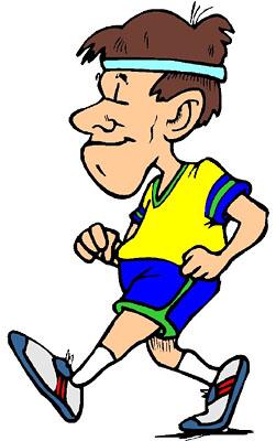 Fat Jogger Clipart - Clipart Kid