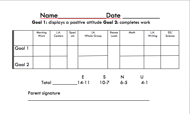 Separate The Day By Subject So The Students Have Smaller Goals To